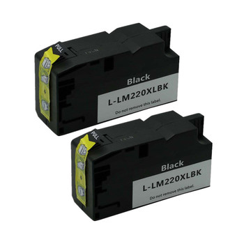 2PK черный L-LM220XL картриджи для Lexmark 220XL officeedge Pro4000c Pro4000 Pro5500 Pro5500t принтер тушь № 263